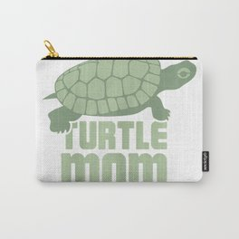 Pet Turtle T-Shirt  Cool Turtle Lover Reptile Gift - Mom Carry-All Pouch