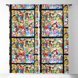 Nintendo Tribute Blackout Curtain