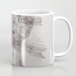 Nude woman pencil drawing Coffee Mug