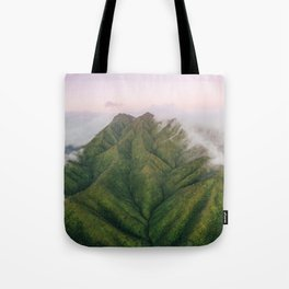 Clouds over the Koʻolau Mountains on Oahu Tote Bag