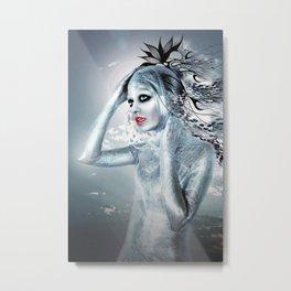 SHE ALIEN Metal Print
