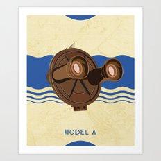 Model A Art Print