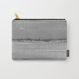 Dunes of Assateague Island (black and white) Carry-All Pouch