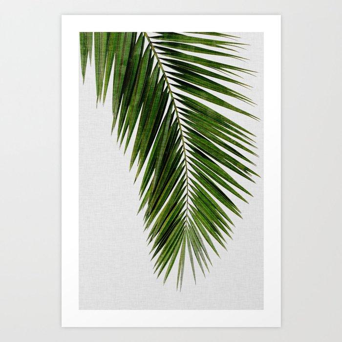 Palm Leaf I Art Print by paperpixelprints | Society6