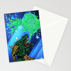 green dragon fire artist Stationery Cards