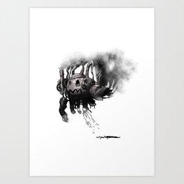Robot Two Art Print