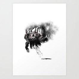 Robot Two Art Print