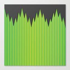 Japanese Plastic Grass Canvas Print