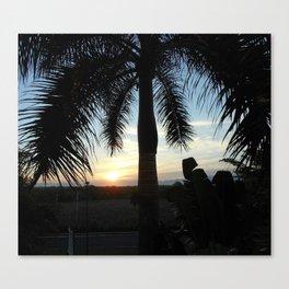 """""""Sunset in Puerto Vallarta Canvas Print"""