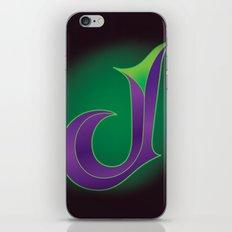 Alphabet J iPhone & iPod Skin