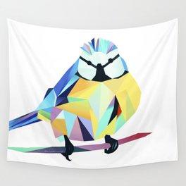 Benni Blaumeise - Benni Blue Tit Wall Tapestry