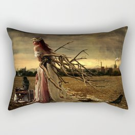 Ripe With Decay Rectangular Pillow