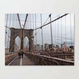 Brooklyn Bridge, New York City Canvas Print
