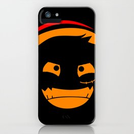The Pirate of Smile Mask iPhone Case