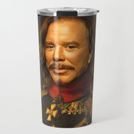 Mickey Rourke - replaceface Travel Mug