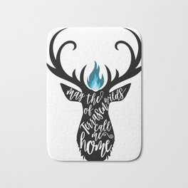 May the wilds of Terrasen call me home Bath Mat