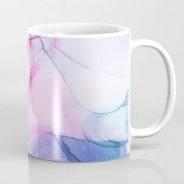 Colorful abstract flowing watercolors background Coffee Mug