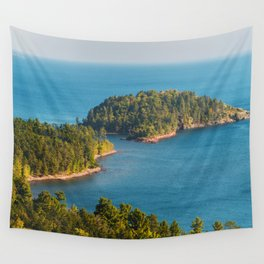 Little Presque Isle on Lake Superior Wall Tapestry