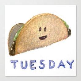 Taco Tuesday Canvas Print
