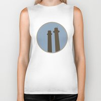montreal Biker Tanks featuring Montreal Inspired by Vincent Arnaud