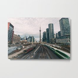 Toronto Railways Metal Print