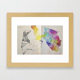 Galaxy Creator Framed Art Print