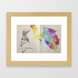 Galaxy Creator Framed Art Print