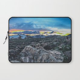 Sunset at the Top of the World Laptop Sleeve