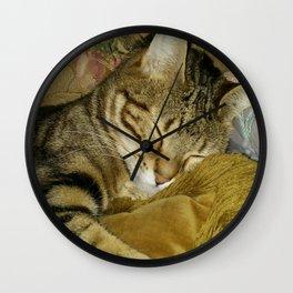 Zelda The Cat Wall Clock