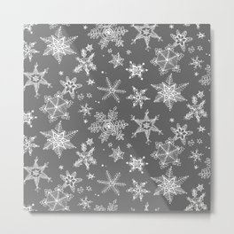 Snow Flakes 08 Metal Print