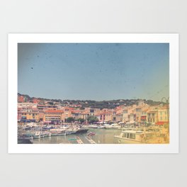 French Riviera Colors Art Print