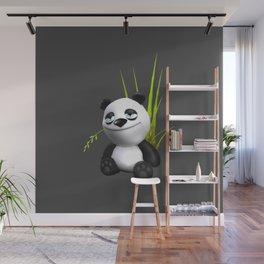 Cute Panda Wall Mural