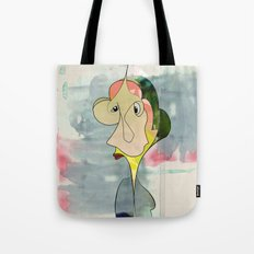 Freaked out. Tote Bag