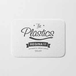 The Plastics - from the movie Mean Girls starring Lindsay Lohan Bath Mat