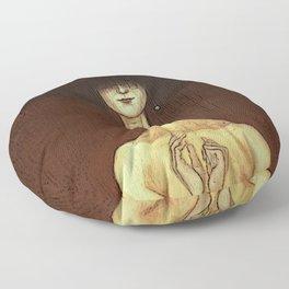 La Femme Fatale Floor Pillow