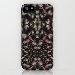 THICK HAIR iPhone Case