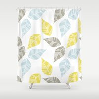 mod Shower Curtains featuring Mod Dreams by MY  HOME