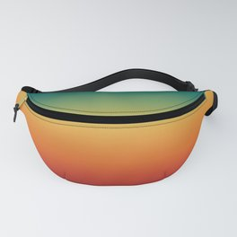 Colorful Trendy Gradient Pattern Fanny Pack