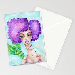 JennyMannoArt Watercolor Illustration/Mermaid Jenny Manno Stationery Cards