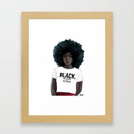 ID Framed Art Print