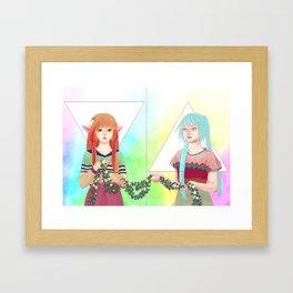 RO BO Framed Art Print