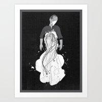kate bishop Art Prints featuring Bishop by Keith Negley