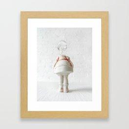 Little Miss Hissy Fit. Framed Art Print