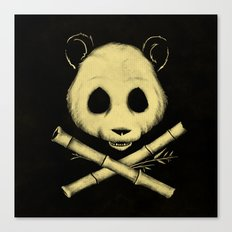The Jolly Panda Canvas Print