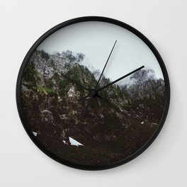 Hidden Mountains Wall Clock