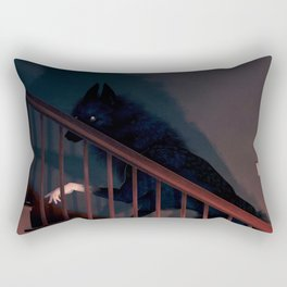 Shape on the Stairs Rectangular Pillow