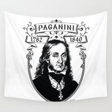 Paganini Wall Tapestry