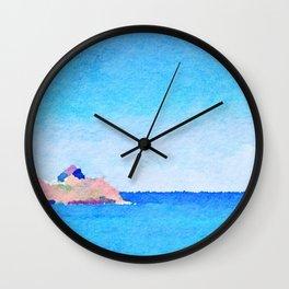Lanikai Aloha Baby Wall Clock