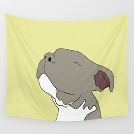 Sunny The Pitbull Puppy Wall Tapestry
