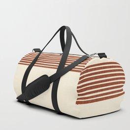 Band in Rust Duffle Bag
